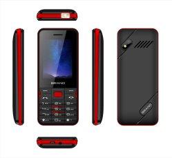 2,4 polegadas de alta qualidade 3G WCDMA duplo SIM Teclado do cartão de telefone celular, telefone Recurso Android, Kaios Whatsapp suporte de telemóvel e o Facebook