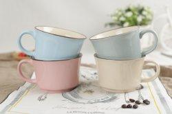 Tasse à café de grès en céramique écologique avec tasse de thé populaire