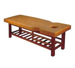 Comfortabele massagestoel met houten frame