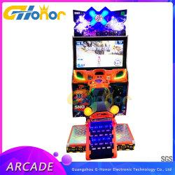 Parque de Atracciones Coin-Operated off-road MOTO MOTOCICLETA de carreras arcade maquina Videojuegos Coin-Operated simulador de máquina de juego de motos de nieve para venta