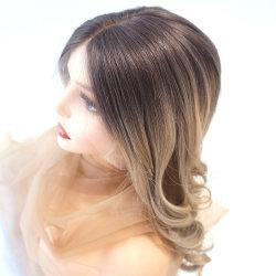 البيع المباشر للمصنع واجهة Lace السويسرية Wig100% عالية الجودة البشرية الشعر شعرة شعرة شعرة طبيعية wigs الظلام جذور الشعر شقراء الجبهة الأربطة الدانتيل تبرز الشعر HD Lace Wigs