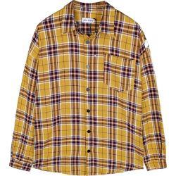 قميص بلوني بقميص بدون أكمام سترة قمصان غير رسمية ذات أكمام طويلة