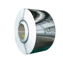 نظام SUS 201 304 316L 310S المدلفن الساخن / البارد 409L 420 420j1 420j2 430 434 436 L 439 من المقاوم للصدأ ملف صلب مع سعر مصنع عالي الجودة