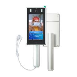 Le contrôle des accès d'identification faciale La reconnaissance de visage de la température de contrôle à distance de sécurité de la porte d'instrument