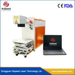 HiSpeed Laser Pulsed Fiber Laser Marking machines 20 watt 30 watt 50 watt Voor metalen materiaal