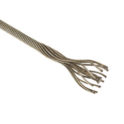 ワイヤーロープ、鋼線ロープ、エレベーターワイヤーロープ8*19s+NF