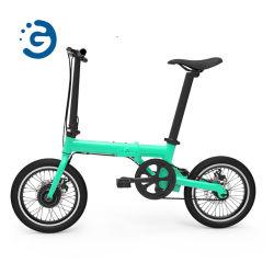 Q1 16'' plegable portátil pequeña E-Bike