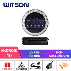 Witson Quad-Core Android 10 radio del coche de BMW Mini Cooper 2006-2013 Vehículo Reproductor de vídeo multimedia