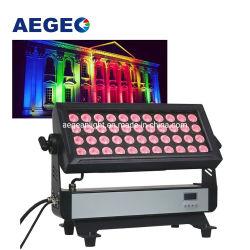 44X10W RGBW 4NO1 à prova de cor da cidade a arruela de parede LED luzes de lavagem para a piscina do Hotel