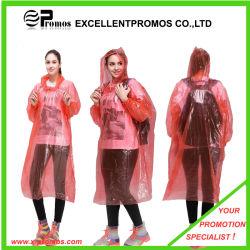 2020 de Draagbare Promotie Goedkope Poncho van de Regen van de Regenjas Waterdichte Beschikbare