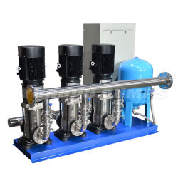 Yonjou 비 부정 압력 건물 물 공급/RO 시스템/화재 싸움을%s 고압 수직 다단식 원심 수도 펌프