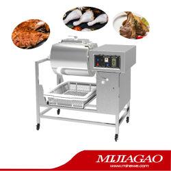 La carne en salazón Adobo la carne de pollo con sal de vacío y la carne adobada la máquina de mecanizado