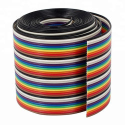 سلك شريط مسطح العزل من مادة PVC مرن UL2468