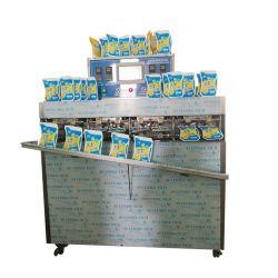 자동 플라스틱 가방 리퀴드 허니 과일주스 아이스 롤리 포즈클 음식 충전 밀봉 포장 기계