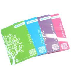 Protezione RFID della carta di credito dello schermo di esplorazione che ostruisce scheda