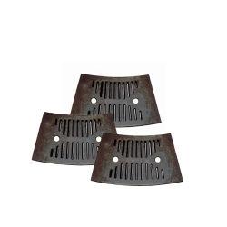 Марганцевая сталь Дробильная установка деталей мельницы шаровой опоры гильзы цилиндра
