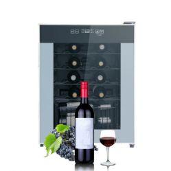 28 bouteille Mini armoire à vin électronique à température constante de l'absorption mini-frigo