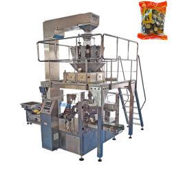 Funda giratoria de vegetales secos automática Máquina de embalaje