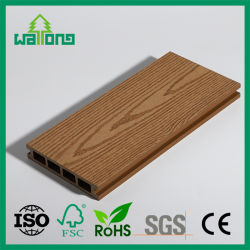 Goede kwaliteit Newtech Wholesale WPC Hout Plastic Compoiste Decking with CE, Bouwmateriaal voor Project Garden, Square Hollow 140*25