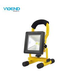 10W nachladbares LED Flutlicht-bewegliches kampierendes Licht