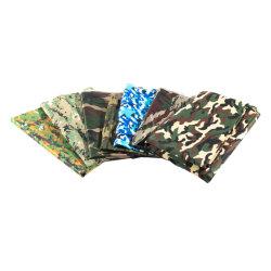 PU покрытием печатаются в военной форме ткань Саржа Оксфорд ткань