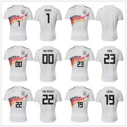 L'équipe nationale personnalisé de gros de l'Allemagne 2019 Home Soccer Jerseys