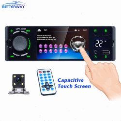 Wince di Betterway 4.1 riproduttore video radiofonico dell'automobile di multimedia dello schermo del pioniere di musica di media di Bluetooth di pollice MP5 con macchina fotografica stereo aus. di Rearview del USB l'audio
