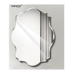 مرآة حائطي بتصميم بدون إطار للديكور مرآة مخصصة مستديرة لانهاية