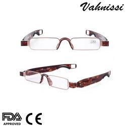 Горячие стили прямоугольник 360 градусов металлические складные чтения очки