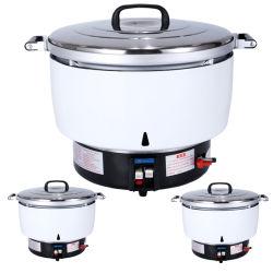 Kooktoestel van de Rijst van het Gas van de Capaciteit van de Verrichting van Zhuoliang 15L het Eenvoudige Grote Commerciële