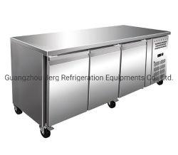 Restaurante Cozinha carnes, frutas, Pizza Mesa de Trabalho freezer
