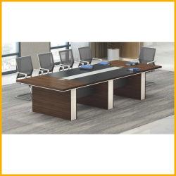 تصميم الزجاج مكتب أثاث تنفيذي طاولة مؤتمرات