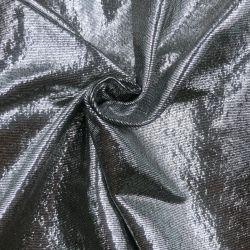 De zilveren Gebreide Stof van het Polyamide van de Folie Elastische Elastane voor Kostuum