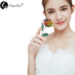 Colorida Rosas de plata (agosto+modelo).