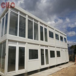 Modularer Container/mobiler Container/mobiler Hauscontainer/Kabinencontainer mit Großem Glasfenster (CLC-CN201505)