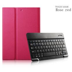 Étui de protection en cuir de PU sans fil pour iPad Air de 9,7 pouces cas clavier