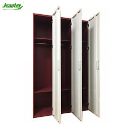 Meubles de rangement Armoire ventilée casier pour la vente de vêtements en métal