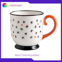 シルクスクリーンの印刷は陶磁器のマグのカスタムコーヒー・マグのフィートのコップをすくう