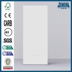 По гладкой популярных поднят грунтовка белого цвета панели двери кожи (JHK-F01)