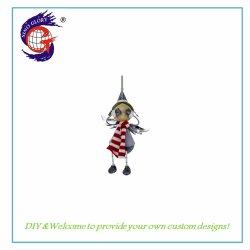 Gouden Kerst Decoratie Iron Doll Voor Uw Home Decor
