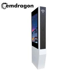 50 pouces écran vertical Air-Cooled-de-chaussée en mettant en évidence la publicité de la machine avec Android Totem cireuse du caisson de nettoyage automatique de la publicité de Bus avec affichage Bus rack TV