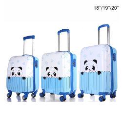 """18''/19""""/20'' Kids les bagages en cabine positionnée verticalement côté dur la coque rigide valise trolley de voyage l'ABS"""
