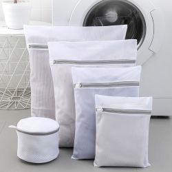 cadeau de promotion Logo personnalisé Filet Sac à linge Lingerie Eco Friendly Le tissu de polyester sac de lavage des vêtements de protection