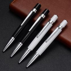 Metallo che fa pubblicità alla penna girante di qualità superiore del laser del Ballpoint di marchio di stampa