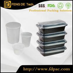 Food Grade разогревать вынос удалите из переработанного пластика фруктов одного обед одноразовый PP кухня Fast Food упаковка пластиковый контейнер для продуктов питания с крышками
