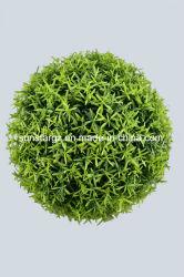 Sfera artificiale dell'erba di Hedyotis della pianta del PE di plastica per la decorazione (47048)