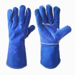 Beschermt de Hittebestendige Hand van het argon de Handschoen van de Veiligheid van het Lassen in Guangzhou