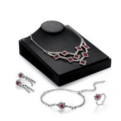 Aktion Geschenkguthandel 2018 Top Design Frauen Modeschmuck Accessoires Hochzeit Bunte Kristall-Schmuck Set