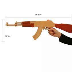 나무로 되는 탄 전자총이 도매 싼 아기 나무로 되는 장난감 전자총 최고 판매에 의하여 농담을 한다