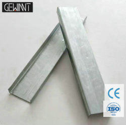Heller Stahlkiel-Metallstift und -spur für Decken-Rasterfeld